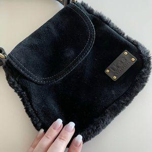Ugg black crossbody purse